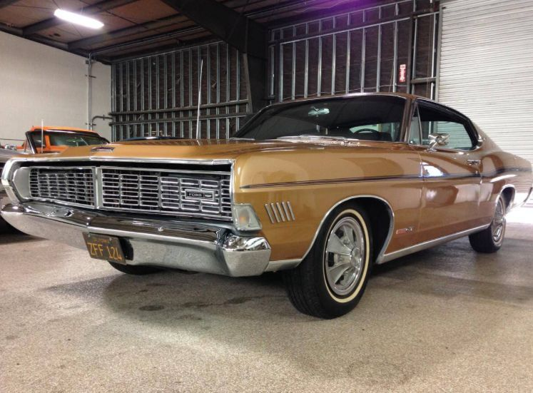 Marti Report Included: Rare 1968 Ford Galaxie XL GT 428