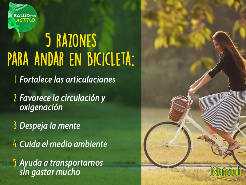 La bicicleta no s lo es un medio de transporte ecol gico sino tambi n una buena forma de - Relajar cuerpo y mente ...