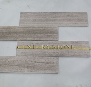 Polished Inch Wood Escarpment Marble Cut To Size Floor Tile - 36 inch marble tile