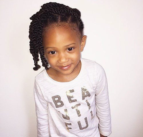twist hairstyle for little black girls - Black Girls Hairstyles And Haircuts – 40 Cool Ideas For Black