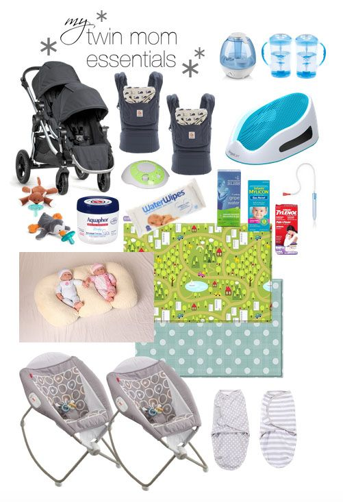 My Twin Mom Baby Registry Essentials, Important Gear For The First