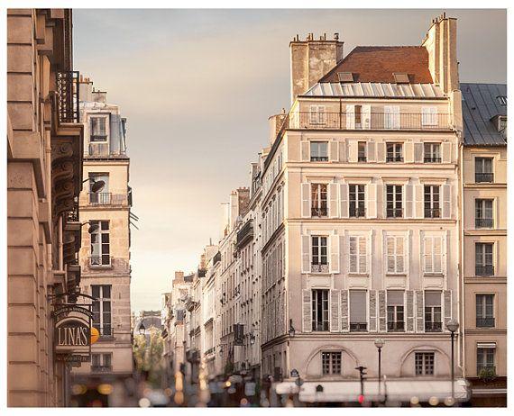 Paris print Fine art photography Paris by RivuletPhotography #paris #photography #beige #neutral #artprint #print #poster #buyprint #buyonline #city #architecture