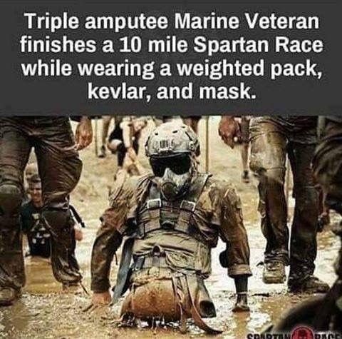 Triple Amputee Marine Veteran Warrior Marine Veteran Usmc