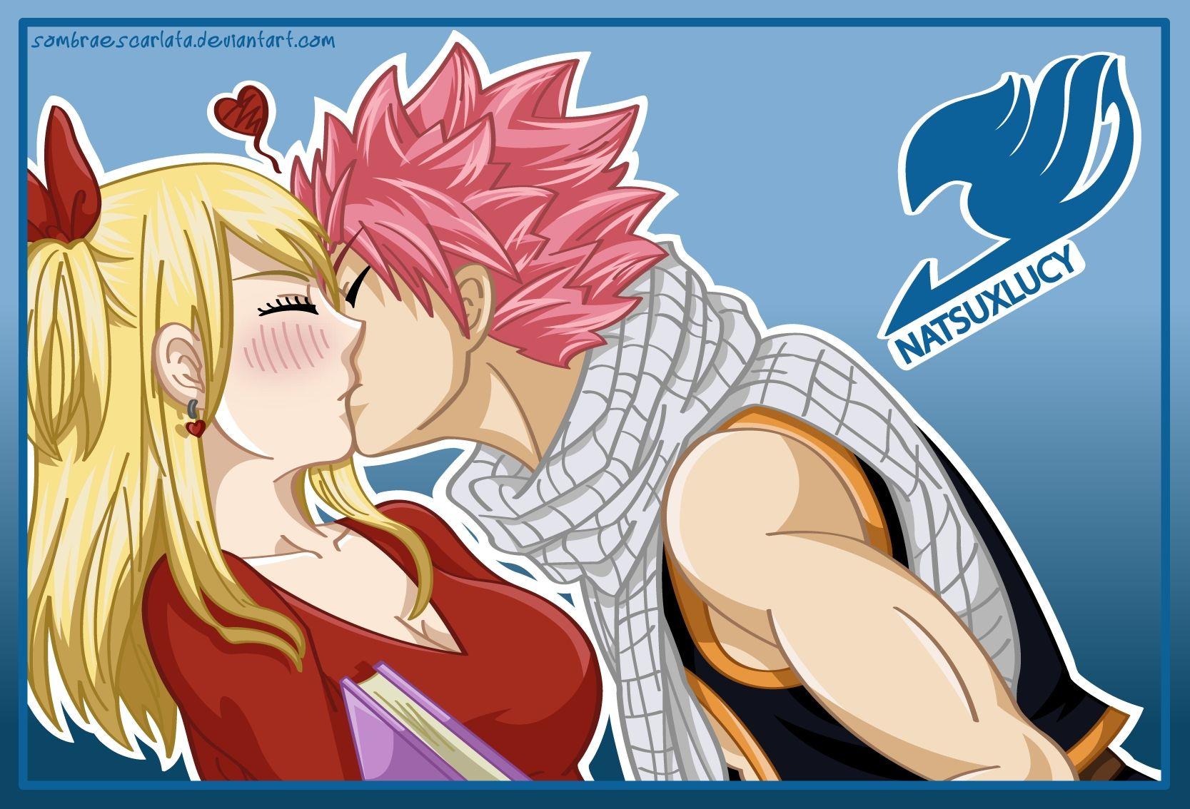 Image Result For Lucy Heartfilia And Natsu Dragneel Kiss