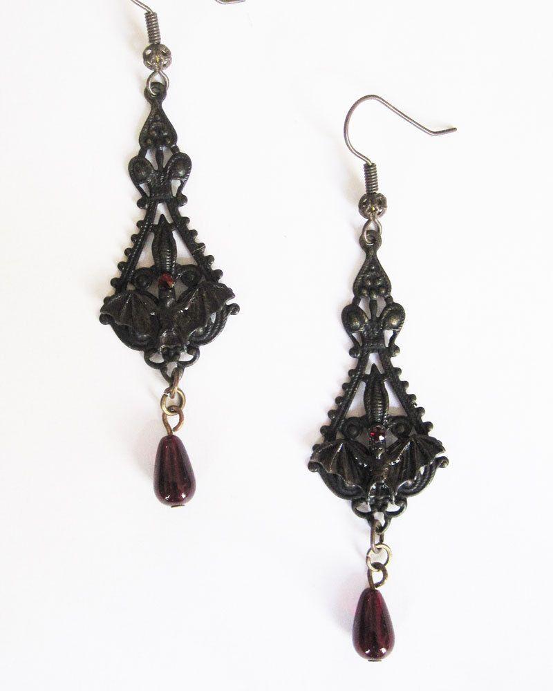Vamp style long earrings 27