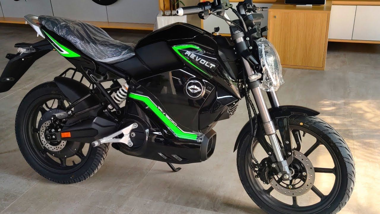 REVOLT RV 300 Electric Bike Launched In India