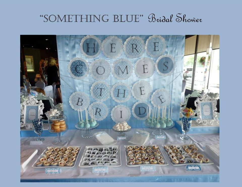 something blue bridal shower by a charming fte