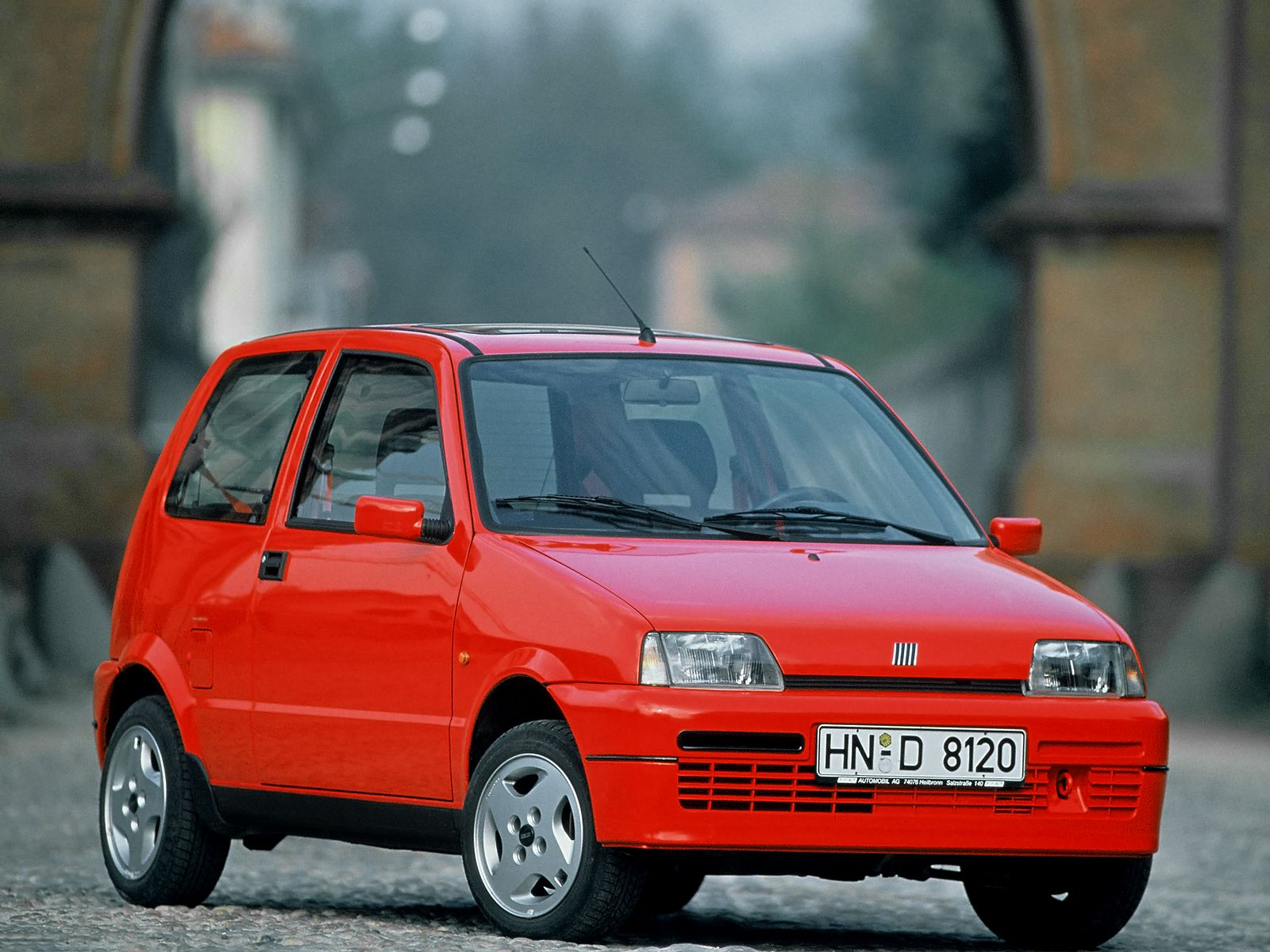 Fiat Cinquecento Sporting Auto Carros Carros Antigos