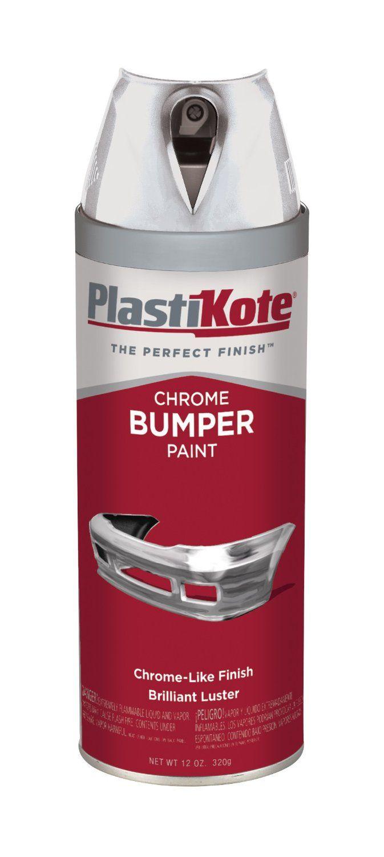 Painting Chrome Bumper : painting, chrome, bumper, Amazon.com:, PlastiKote, Chrome, Bumper, Paint, Automotive, Useful, Information, Chrome,, Painting,, Finishes