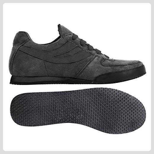 Sneakers - 4431-pigsueu - Total Black - 35 - Sneakers für frauen (*Partner-Link)
