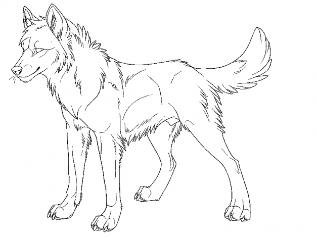 Big Bad Wolf Coloring Page Kidswoodcrafts Dog Coloring Page Wolf Colors Animal Coloring Pages