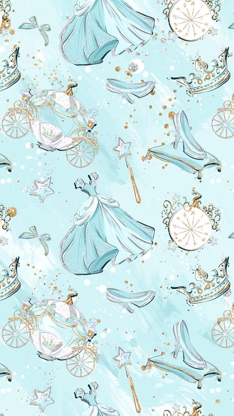 Cinderella Background シンデレラ 壁紙 ディズニーアート