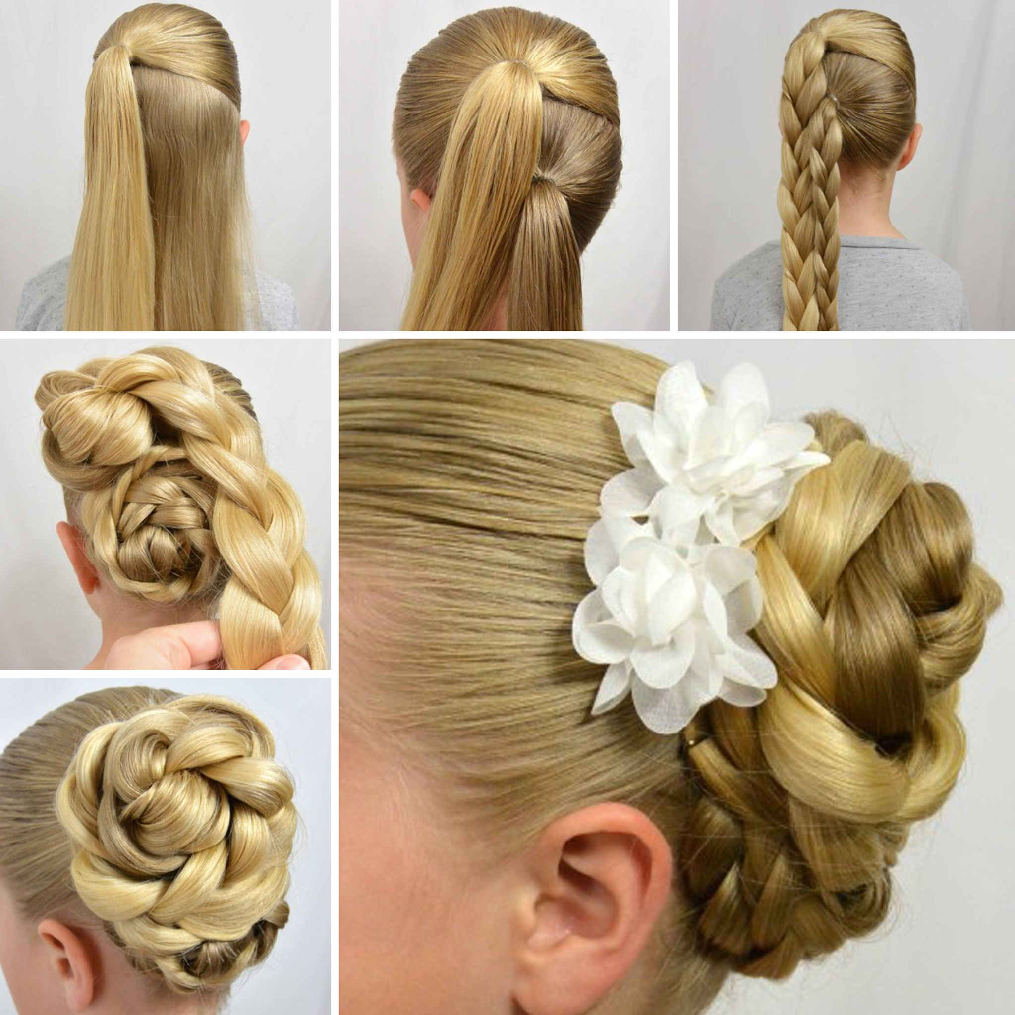 Easy Hairstyles Step By Step Easy Stepstep Tutorials On How To Do Braided Hairstyle 10