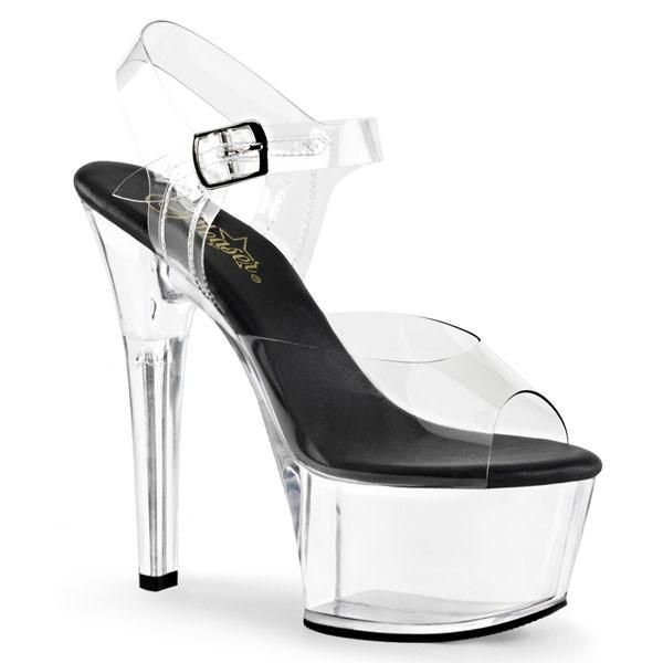 dde2688e3d9 ASPIRE-608 Platform Sandal by Pleaser Shoes. FREE Shipping   Returns on  Pleaser heels