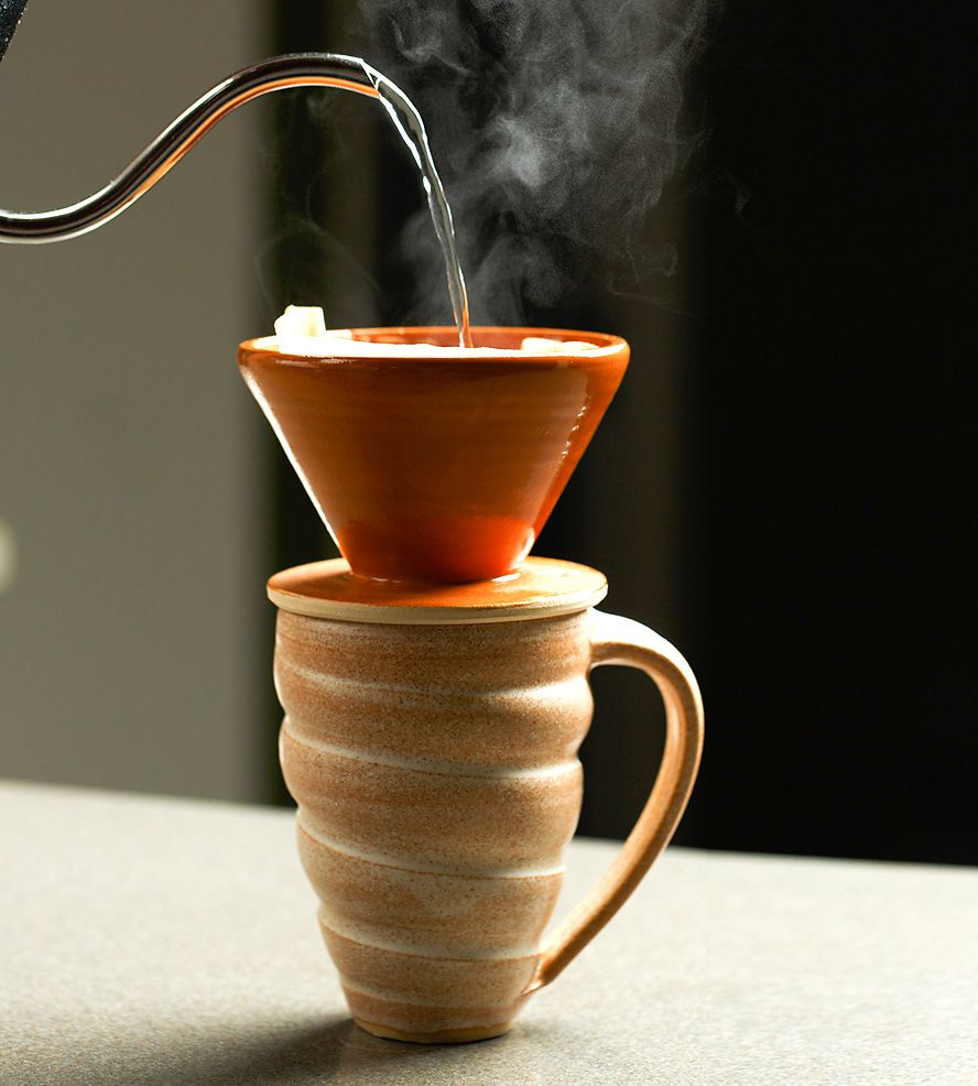 Ceramic Coffee Pour Over Cone Mug Set By Function Jennifer Creighton On Scoutmob Pe
