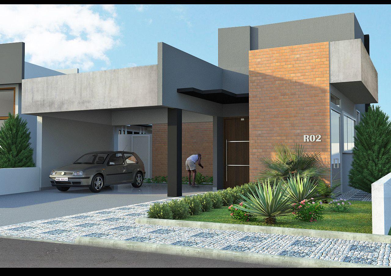 Resultado de imagem para textura para fachada sketchup for Casa moderna sketchup download