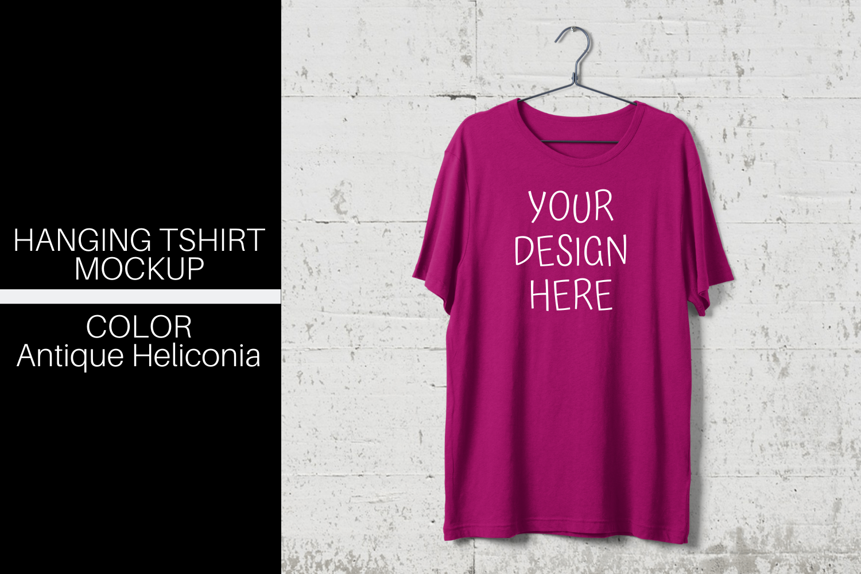 Download Hanging T Shirt Mock Up Antique Heliconia Png 426816 Mockups Design Bundles Denah Rumah