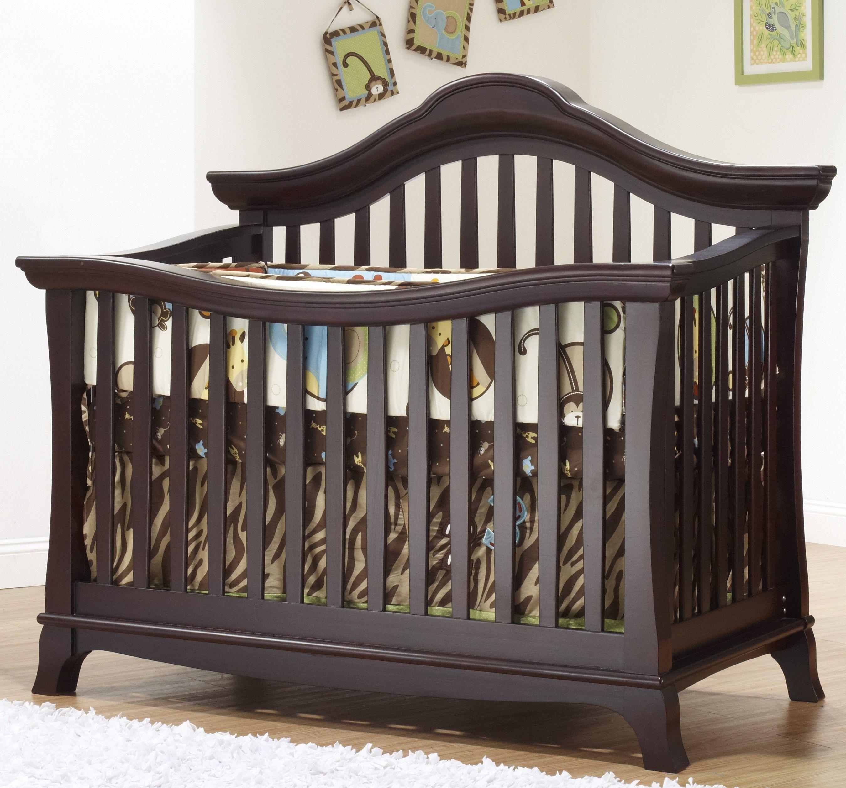 Sorelle Napa Collection Convertible Crib in Merlot Sorelle Napa