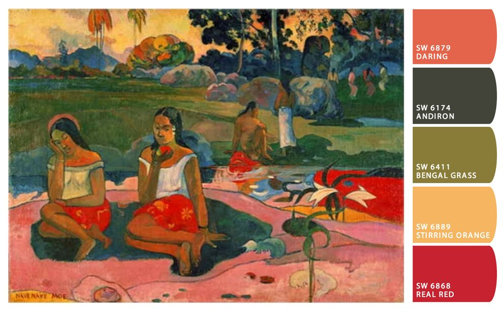 Art of Paul Gauguin | Paul Gauguin | Portrait Painting