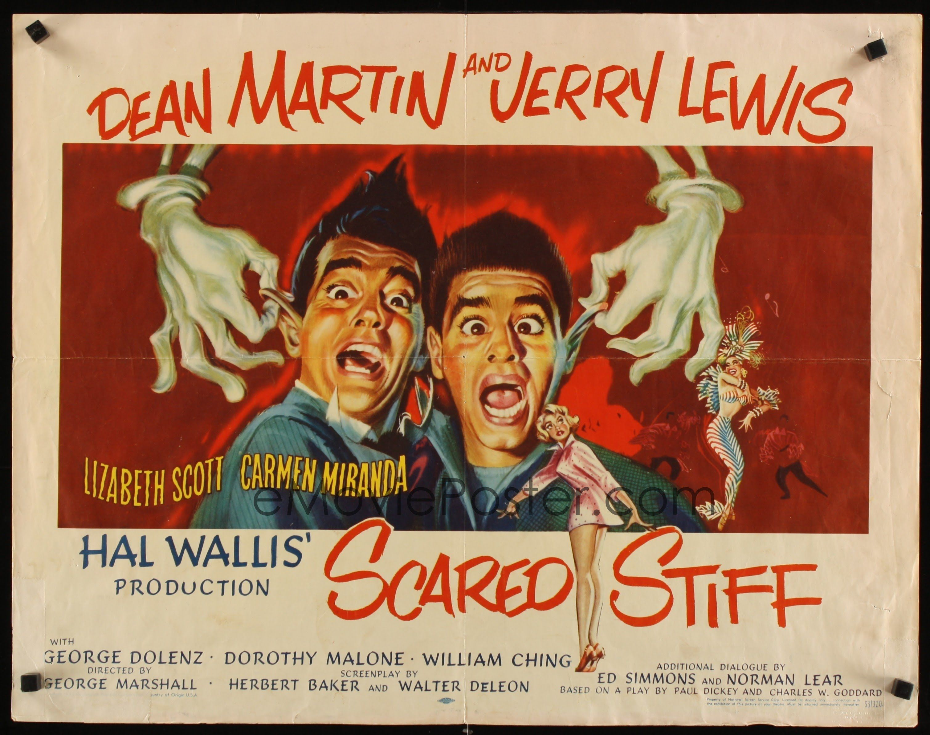 Sailor beware Jerry Lewis cult movie poster print