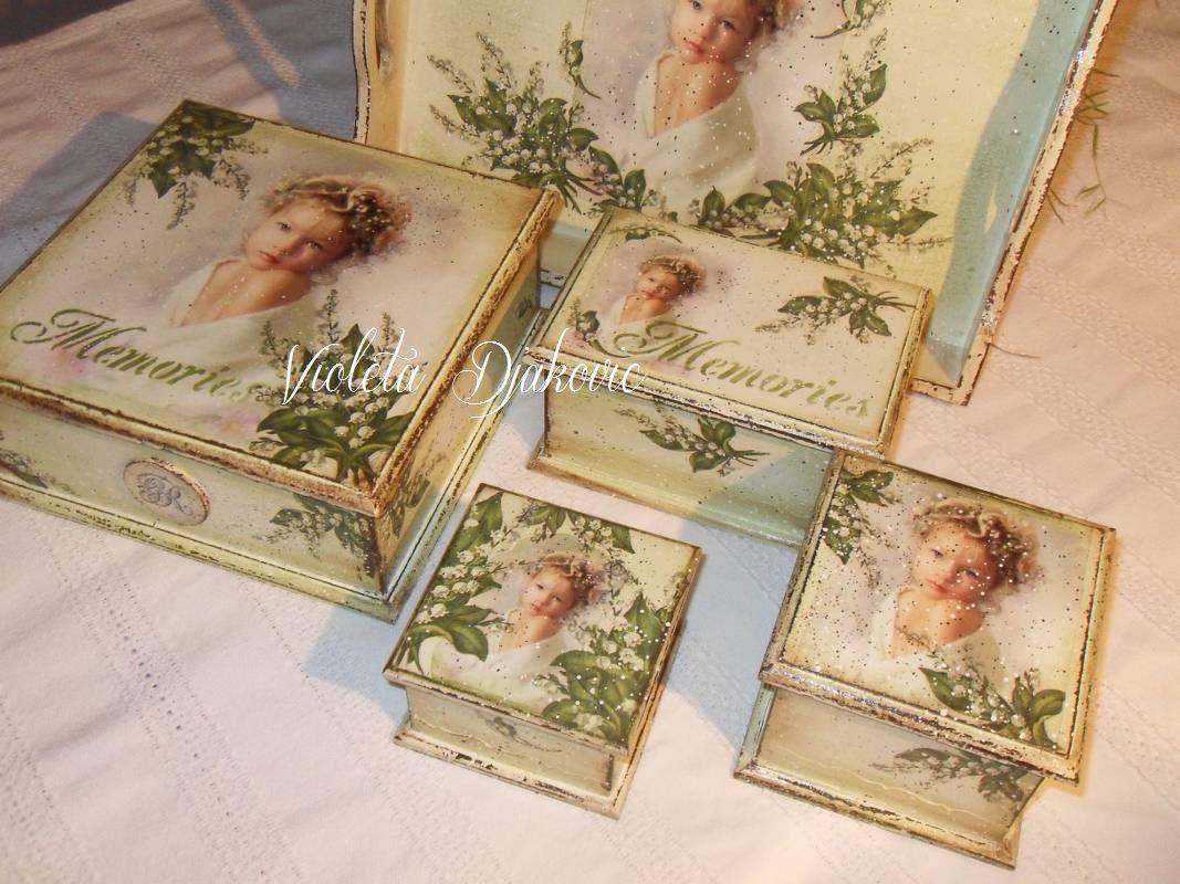 Pin de violeta djakovic en decoupage pinterest cajas - Cajas de madera decorativas ...