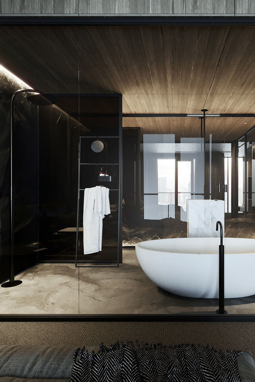 Modern bathroom design | Modern bathroom design, Hotel ...