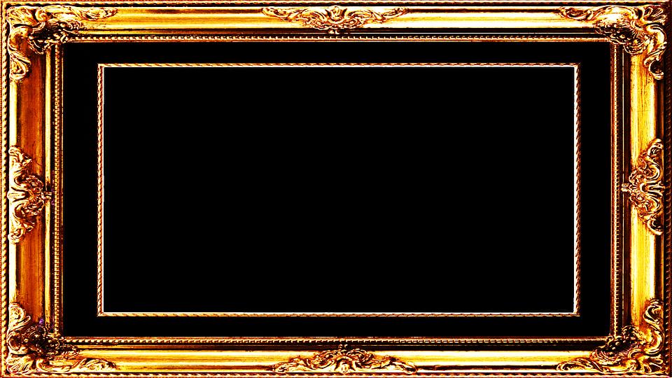Free Image on Pixabay - Frame, Gold, Border, Rectangular | Gold
