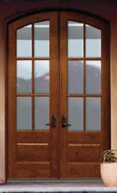 Entry doors with glass exterior doors custom and stock for Double wood doors with glass