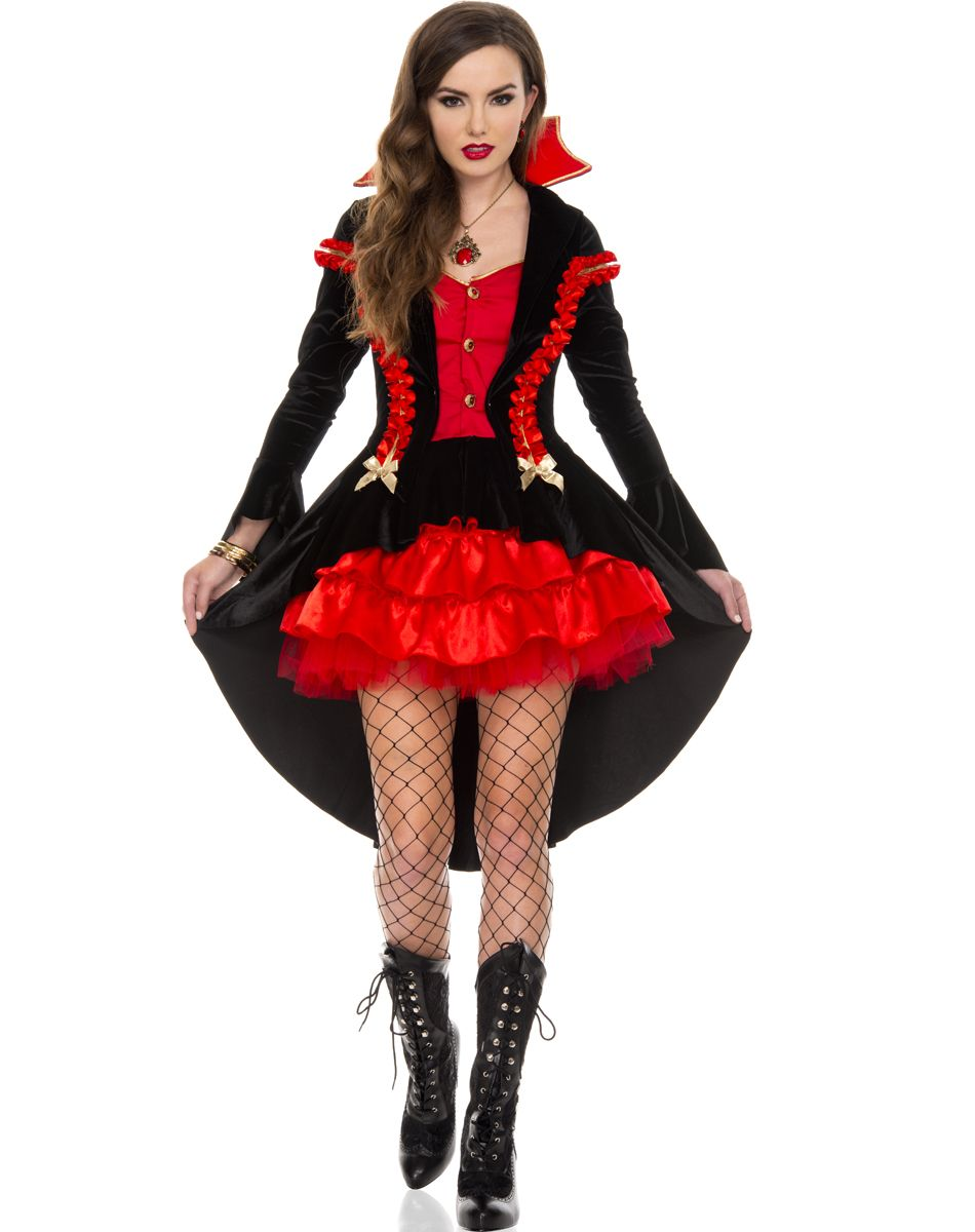 Vampire Countess Adult Womens Costume – Spirit Halloween ...