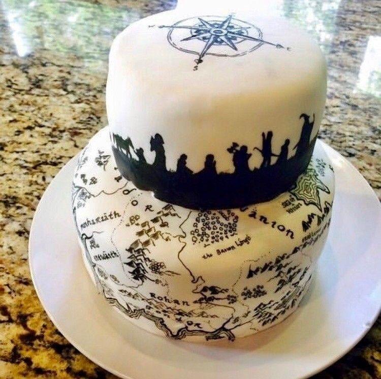 Pin by Diana Goodwin on Jimmy Cake Ideas   Hobbit cake ...