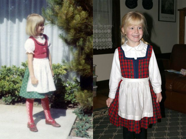 the latest 36429 26242 This would be for the girl narrator before Silent Night. Sound Of Music  Costumes,