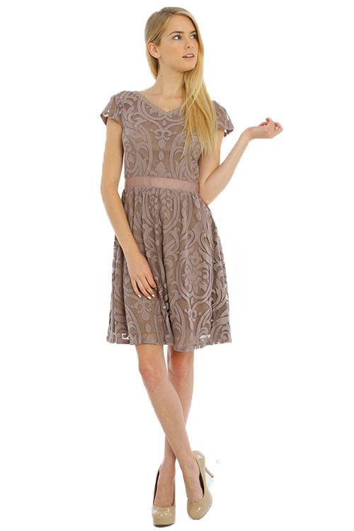 Barcelona Lace Dress