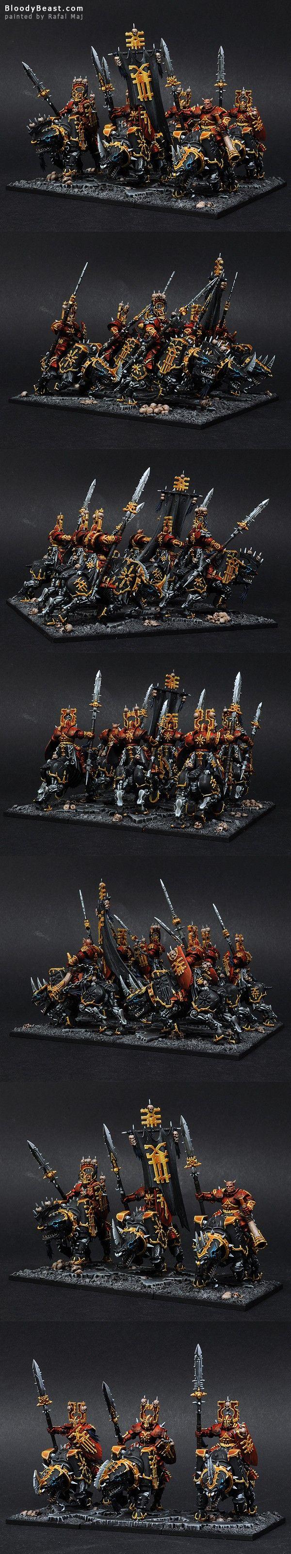 E2 Warhammer Warriros Of Chaos Skullcrushers