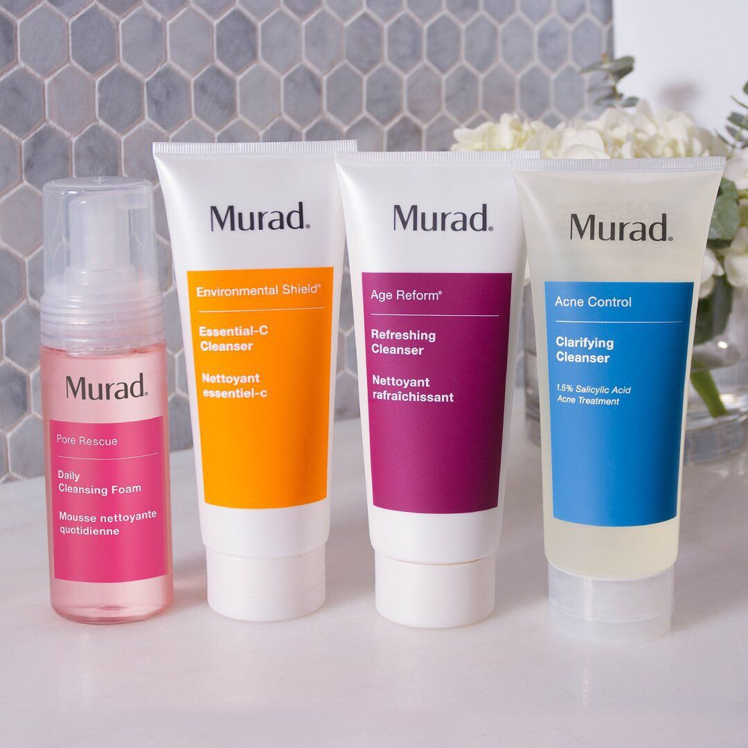 Looking For Your Perfect Cleansing Match We Have You Covered Muradskincare Acne Solutions Clarifying Cleanser Acne Control