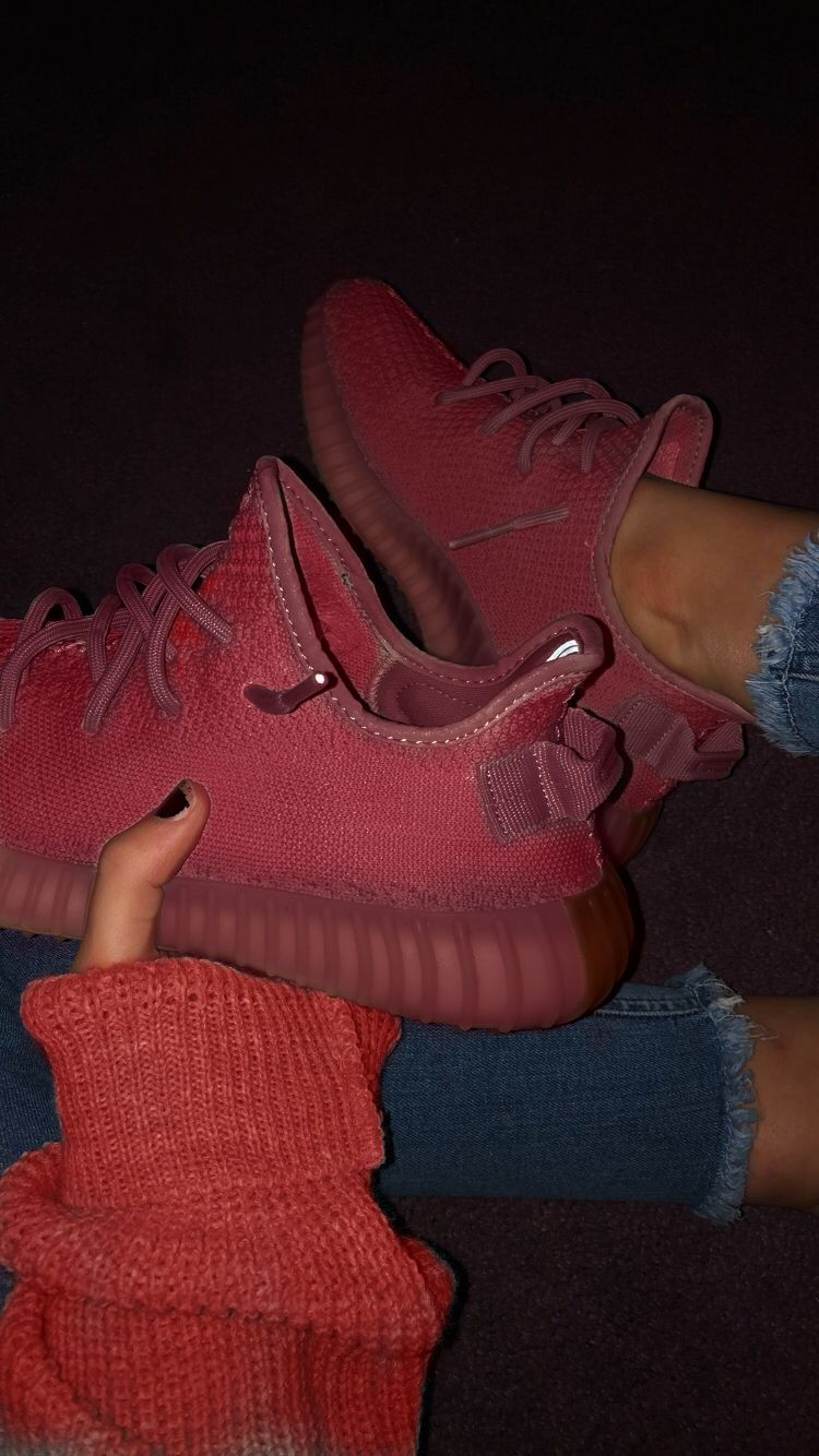 red yeezy boost | Red adidas shoes
