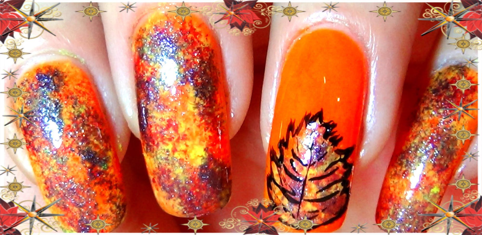 Cute Nail Tutorial - Fall Nail Art Designs - Ombre Nails with Sponge ...
