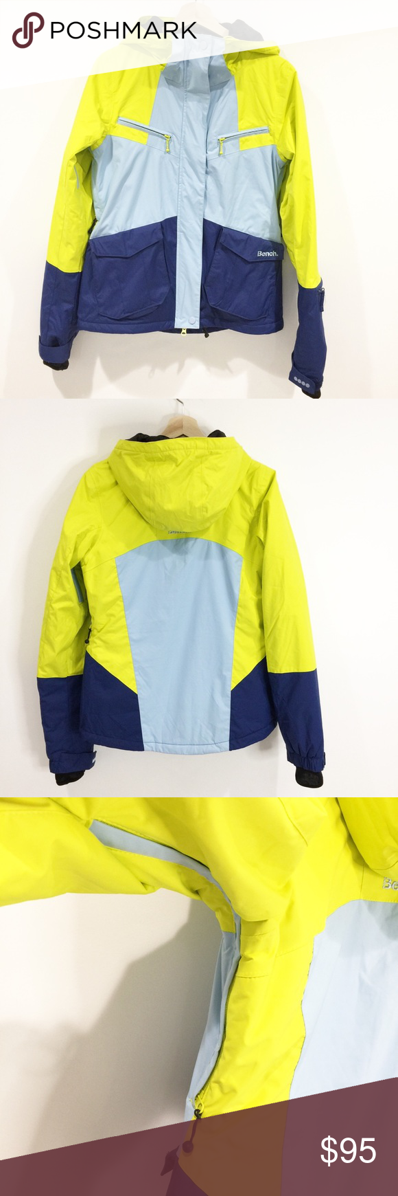 Bench Ski Snowboard Snow Jacket Sz Medium Nwt Bench Jackets Snow Jacket Jackets [ 1740 x 580 Pixel ]