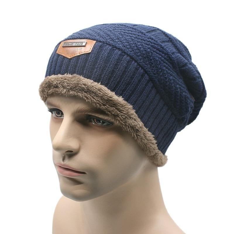 ca64dd121d Unisex Women Men Fitness Camping Hat Winter Beanie Baggy Warm Wool Cap