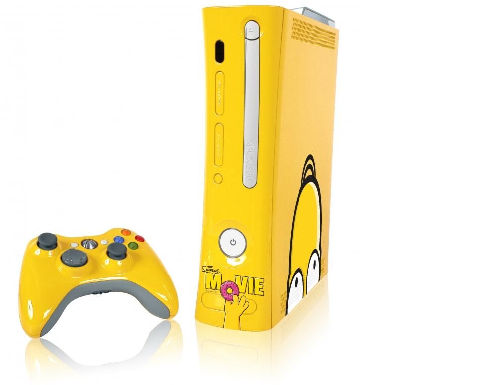 Limited Edition Simpsons Xbox 360 console | Best limited edition ...
