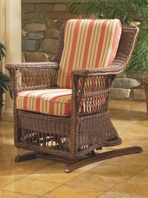 Attirant Legacy Outdoor Single Glider Chair