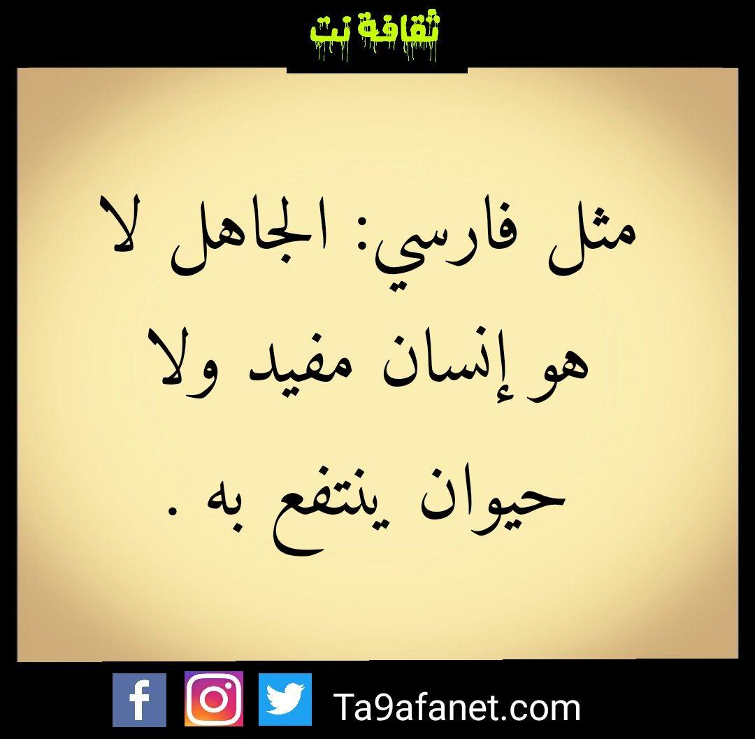 مثل فارسي Arabic Calligraphy