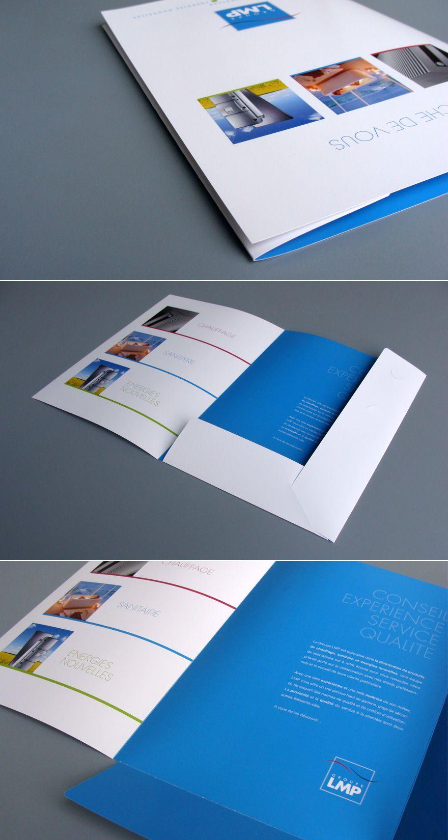 Creattica Folder Graphic Design Pocket Folder Design Presentation Folder Design