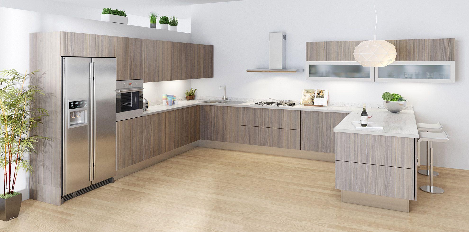 Esperia Dublin Modern Door Style Modern Kitchen Renovation Modern Kitchen European Kitchen Cabinets