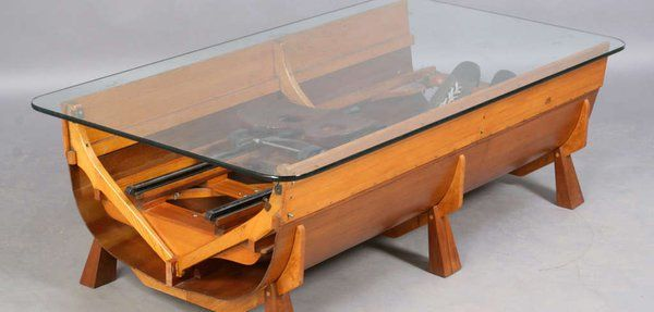 Charmant Rowing Boat Coffee Table #boataccessoriesideas