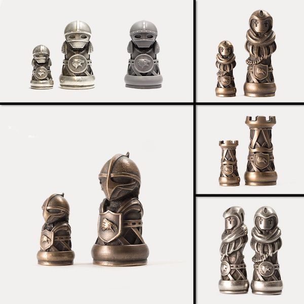 projects ideas metal chess pieces. These 3D Printed Medieval Chess Pieces Are Badass  Gaming Goodies