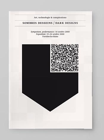 Qr Code As Art Minimalism A Identity Grafik Design
