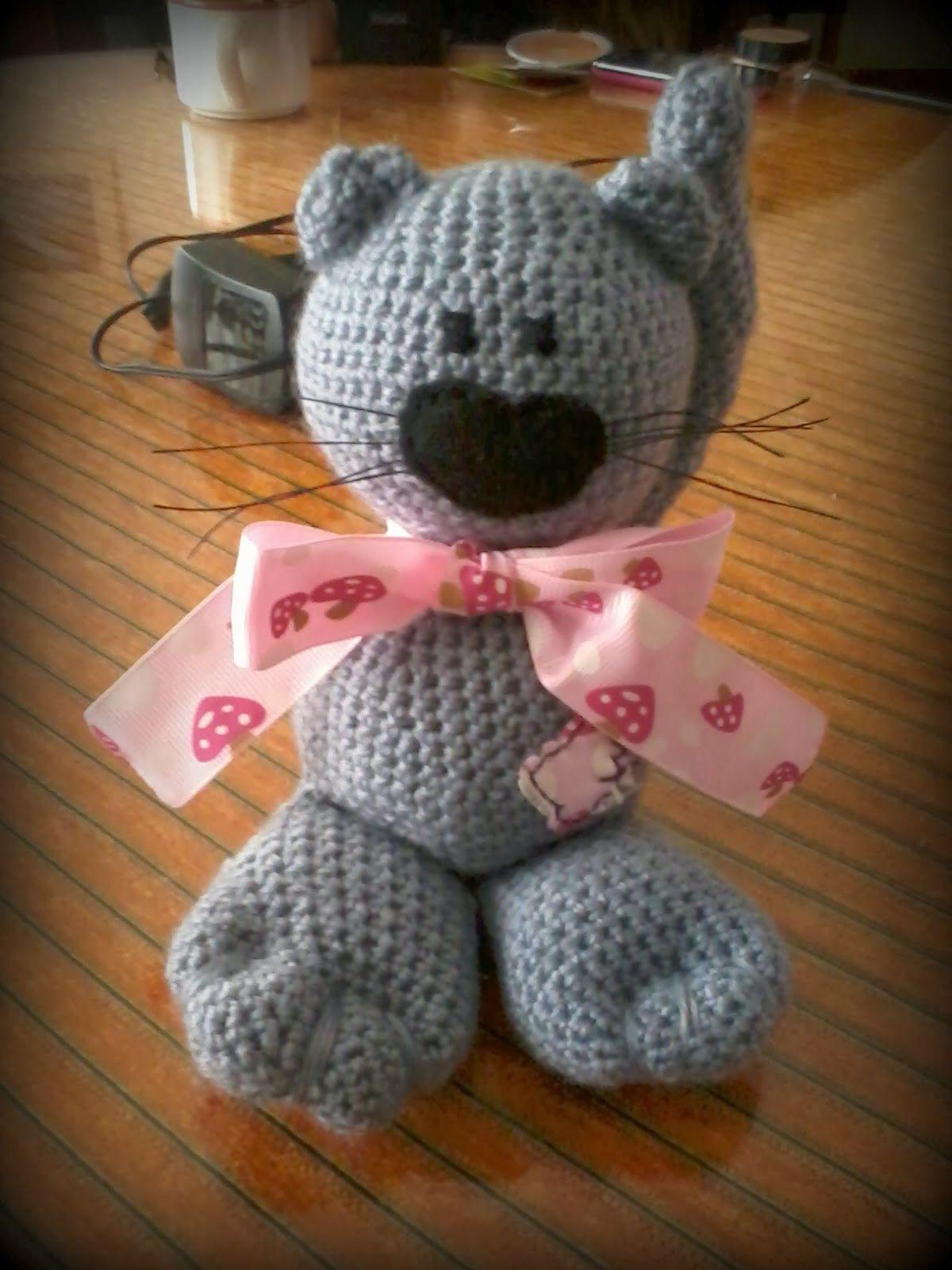 Gato #amigurumi | Bebé crochet y agujas | Pinterest | Gato y Bebé