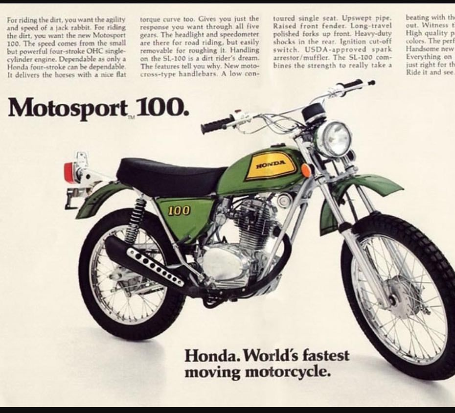 These Little Bad Boys Were The Bomb In The 100cc Class Back In My Day In That Class Honda Motocrosshistory Fourst Honda Bikes Enduro Motorcycle Honda Cycles
