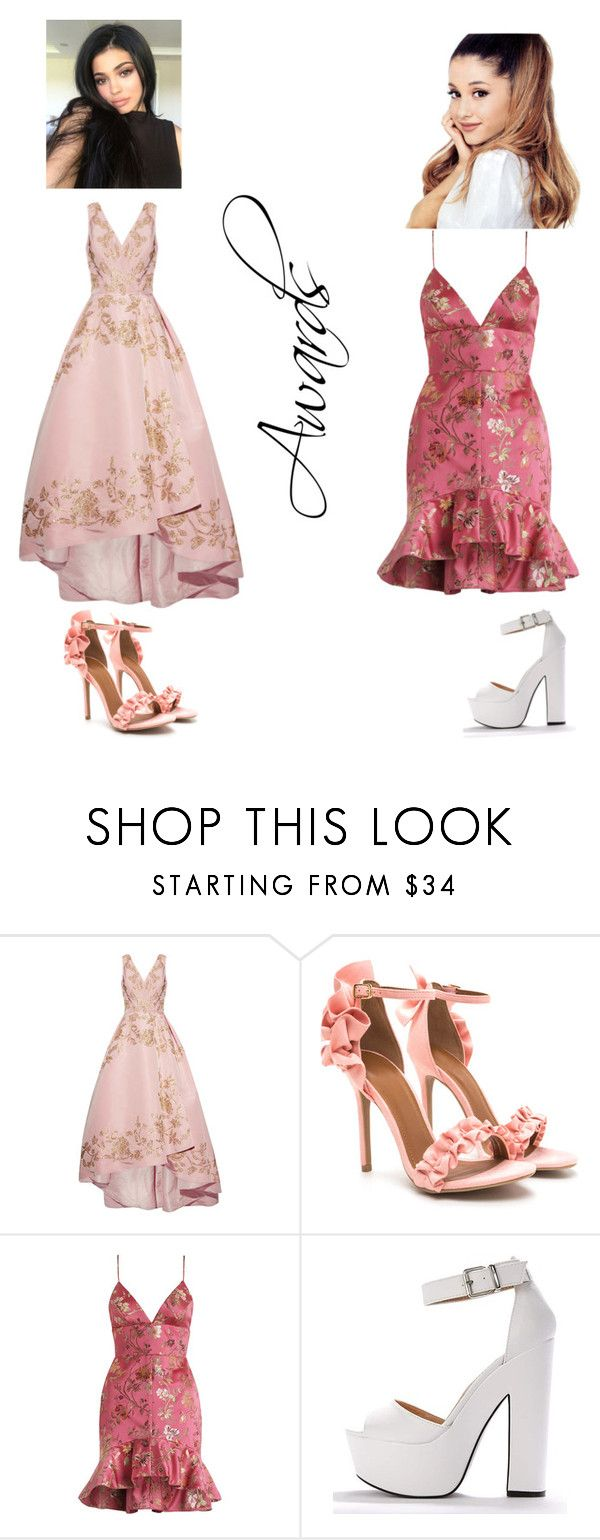 """""""Awards"""" by roseisapenguinx ❤ liked on Polyvore featuring Oscar de la Renta and Zimmermann"""