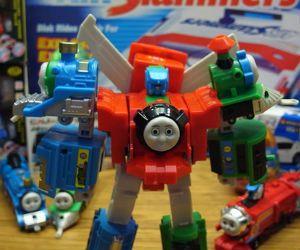 Thomas the trainsformer,  train in disguise! :)
